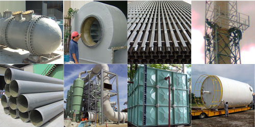 The leading FRP manufacturer and fabricator in Malaysia